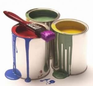 Decorating Paint Pots