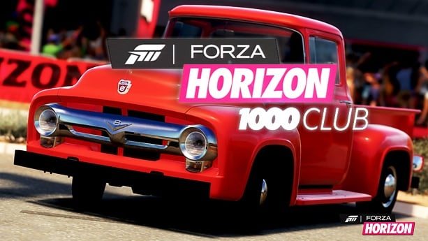 Forza horizon red truck