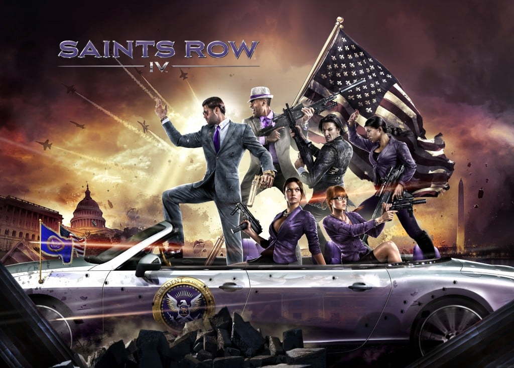 Saints Row IV Meet the president